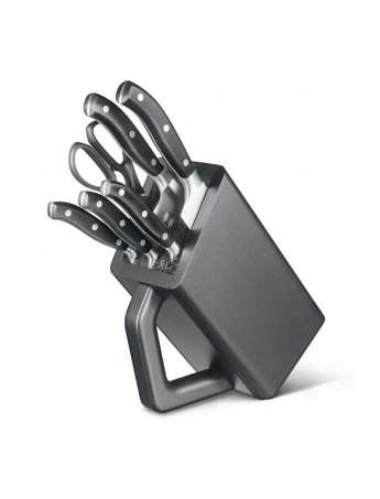6 PIECE CUTLERY BLOCK