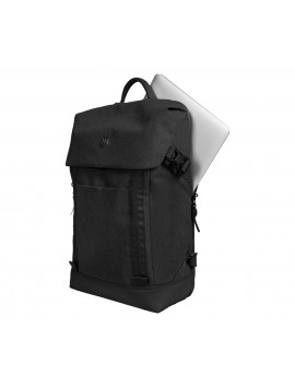 Deluxe Flapover 15.4″Laptop Backpack black