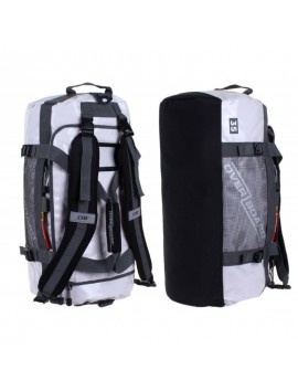Adventure Duffel Bag black- 35L white