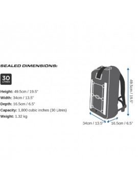 Pro-Sports Waterproof Backpack – 30L