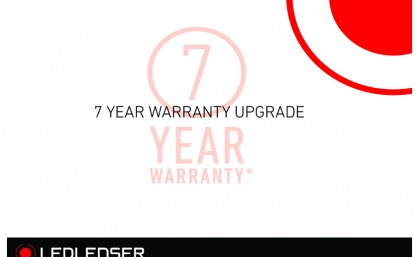 LEDLENSER 7YEAR WARRANTY UPGRADE