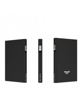 True Virtu Card Case Click and slide black magic