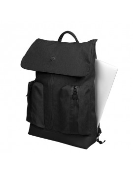 FLAPOVER 15.4″Laptop Backpack black