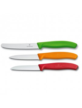 Swiss Classic Paring Knife Set 3 Pieces