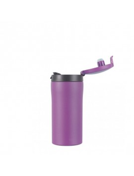 Lifeventure Flip Top THERMAL MUG 300ml blue