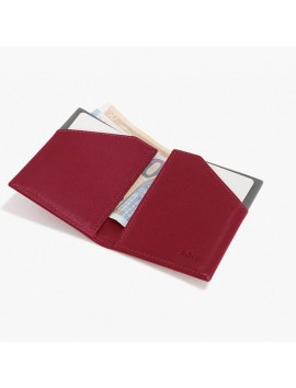 ROIK WALLET RFID City burgundy
