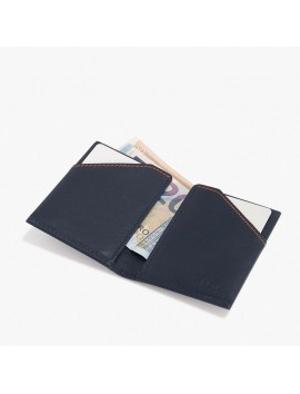 ROIK WALLET RFID City blue navy