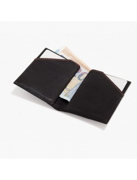 ROIK WALLET RFID City dark brown