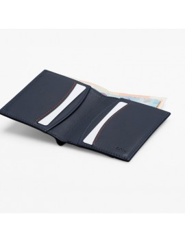 ROIK WALLET RFID Zip Avenue μπλε