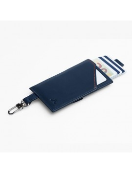 ROIK WALLET RFID Cards & Keys blue navy