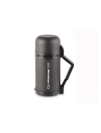 Lifeventure TiV Wide-Mouth Vacuum Flask 1L