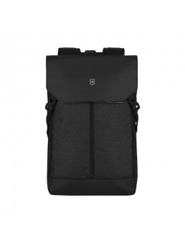 "Flapover 15.6"" Laptop Backpack Black"