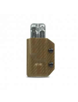 Kydex Sheath for Leatherman FREE P4 CF-Brown
