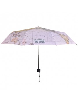 Legami Folding Umbrella Folding Map
