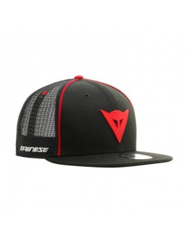 Dainese 9FIFTY Trucker Snapback cap black red
