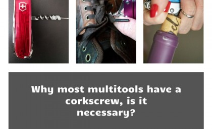 Why most multitools have a corkscrew, is it necessary?